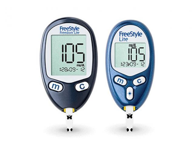 Free Freestyle Freedom Blood Glucose Meter Sample Madney