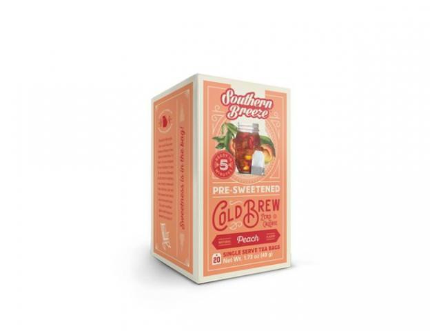 Get A Free ZERO Calorie Cold Brew Peach Sweet Tea!